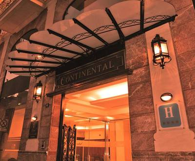 Entrance Continental Hotel